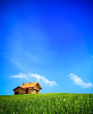 New summer house Stock Photo - 6728690