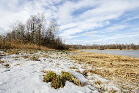 Lake in Winter Stock Photo - 6960863