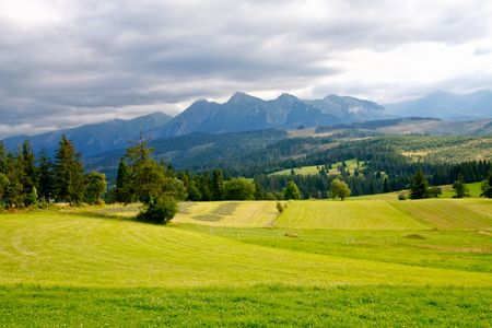 Tatra Mountains national park in Zakopane
