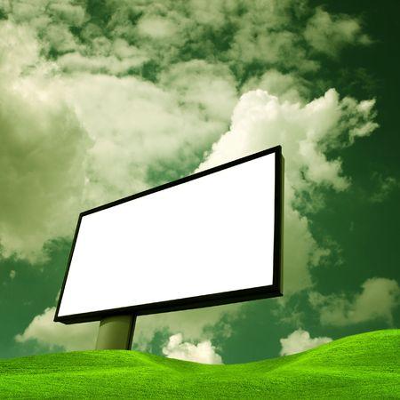 Ecology billboard photo