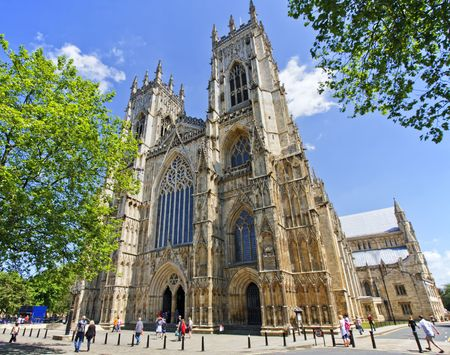 york minster: York Minster in York, England