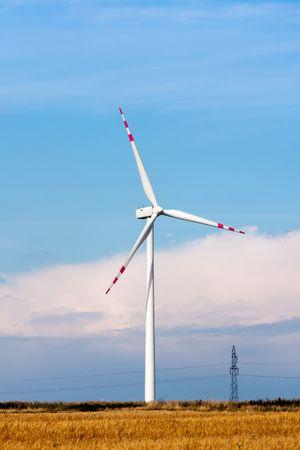 Wind turbine Stock Photo - 7743476