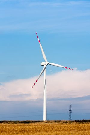 Wind turbine Stock Photo - 7743476