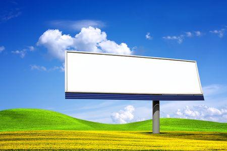blanked: Big blanked bilboard