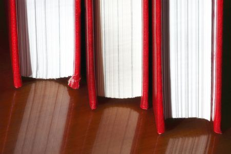 Red books Stock Photo - 7840891