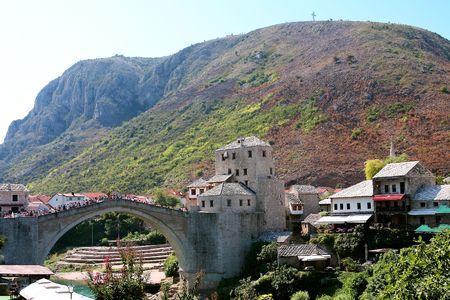 mostar: Mostar landscape
