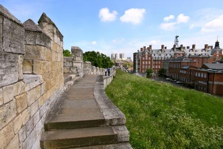 slits: York City Walls, UK