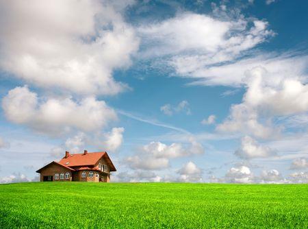 New family house Stock Photo - 8056074