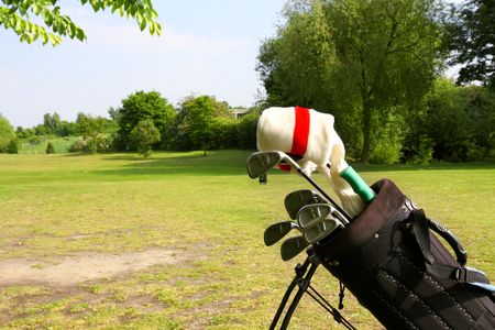 Golf equipment Stock Photo - 8130871