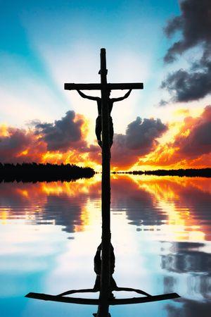 jesus clouds: Crucifixion of Jesus Christ