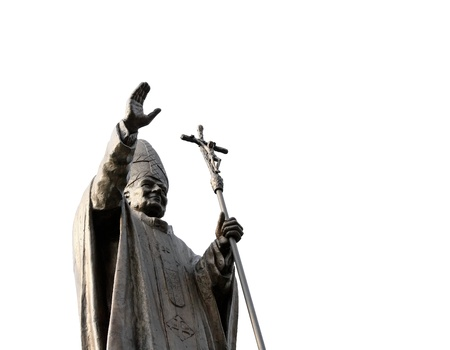Statue of Pope photo