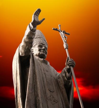 vatican: Statue