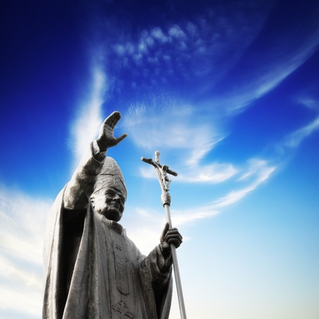Statue of Pope Stock Photo - 8803117