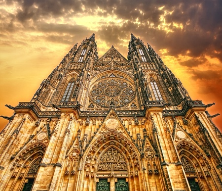 gothic castle: Catedral