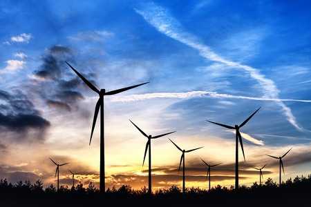 Alternative energy source Stock Photo