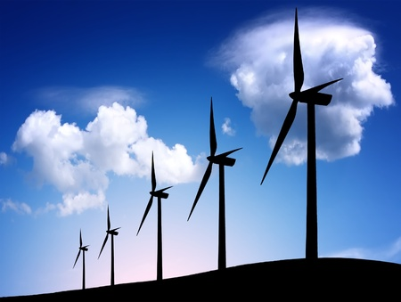 windmolens: Wind farm