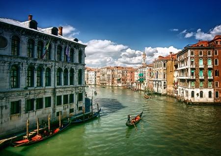 paisaje mediterraneo: Los canales de Venecia