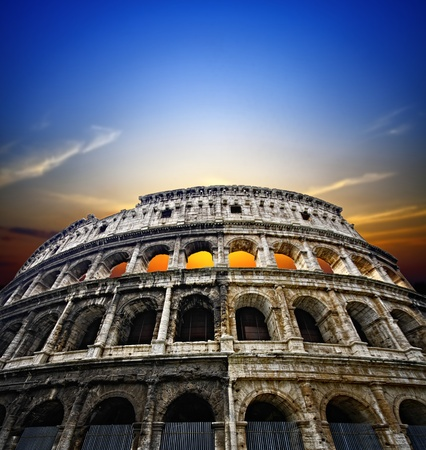 Roma: Colosseum in Rome