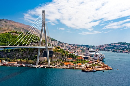 Dubrovnik in Croatia Stock fotó