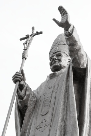 Pope JP2 monument photo