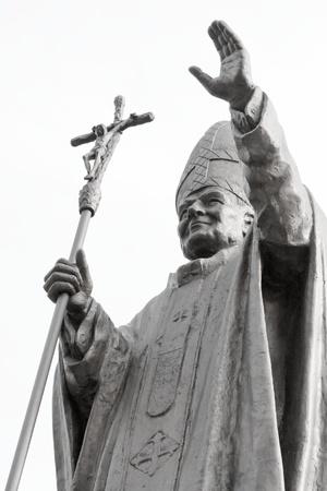 beatification: Pope JP2 monument