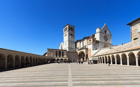 Basilica of St. Francis in Assisi photo