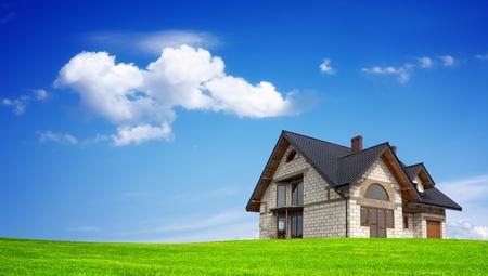Mountain House Stock Photo - 9230487