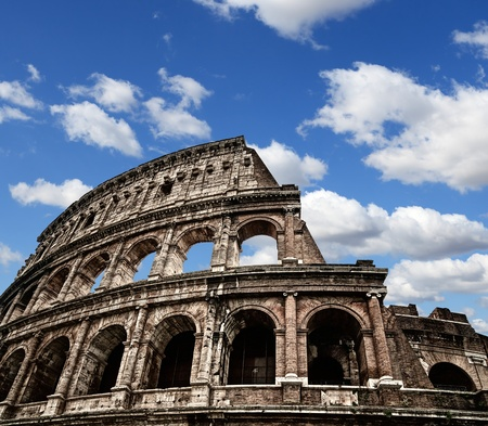 romano: Coliseo de Roma antigua