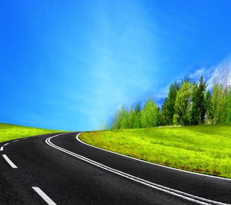 winding: Road