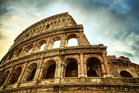 roman amphitheater: The Colosseum in Rome, Italy
