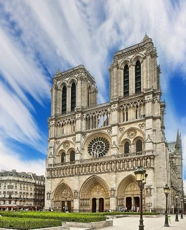 Notre Dame Cathedral - Paris photo