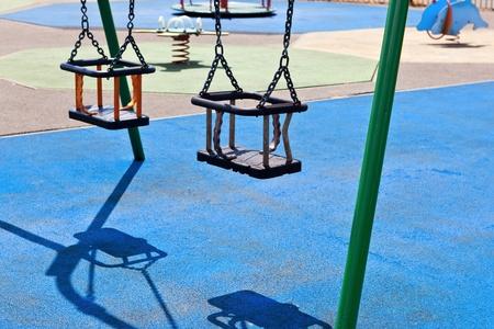 Playground swings Stock Photo - 9795465