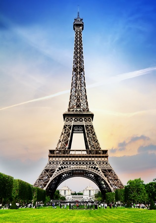 sightseeing: Paris Tower