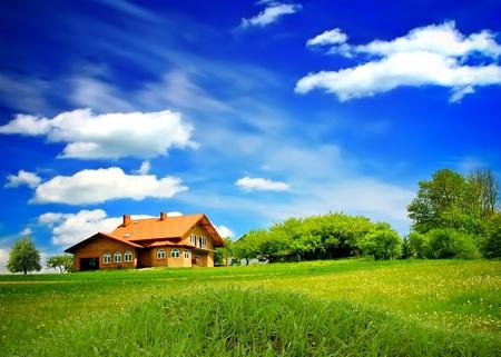 Krajobraz letnich górski Zdjęcie Seryjne