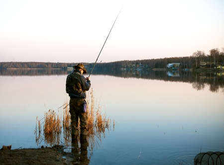 Fishing Stock Photo - 10133402