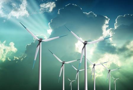 wind power plant: Wind farm