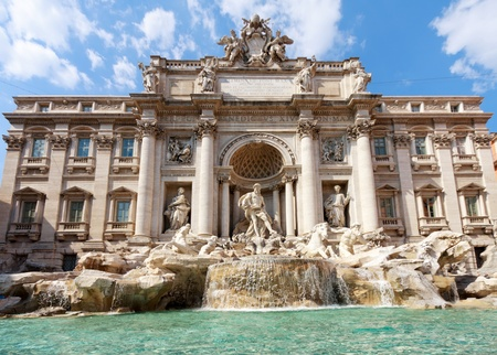 fontana: Fountain di Trevi
