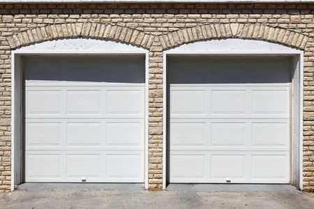 Garages Stock Photo
