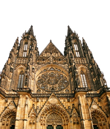 Cathedral in Prague photo