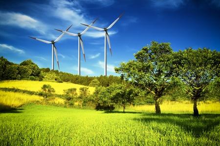 Industriële en natuur