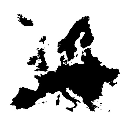 geography of europe: Europe map