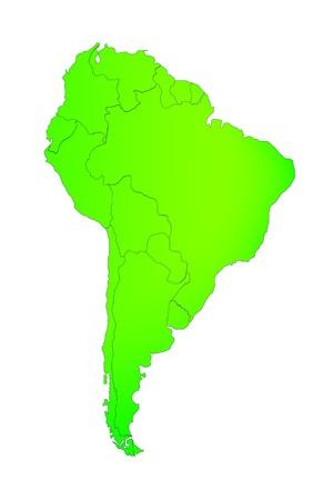 mapa de venezuela: Am�rica del Sur