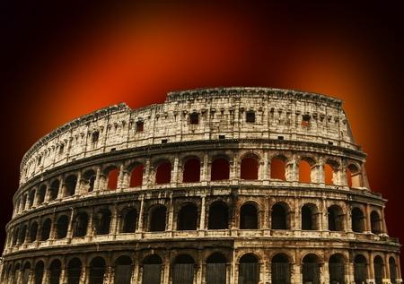 italian architecture: Colosseum in Rome, Italy
