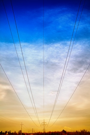 Power line photo