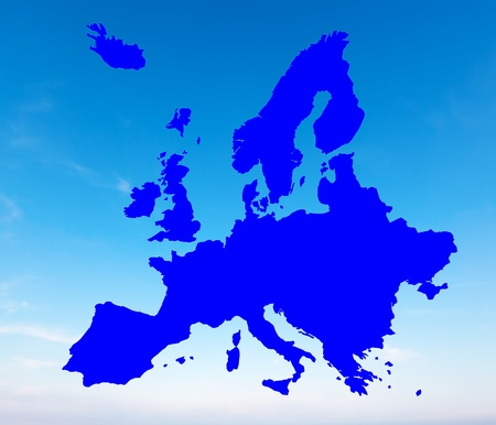 bounds: Europe map