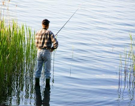 horgász: Halászat Stock fotó