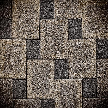 Stone mosaic photo