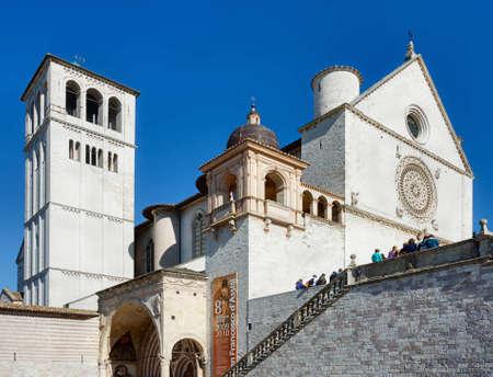 francesco: San Francesco, Assisi Stock Photo