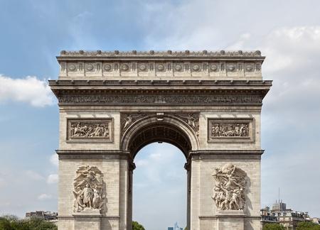 triumphal: The Arc de Triomphe in Paris