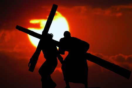 Stations of the Cross Stock Photo